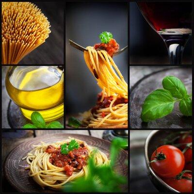 Quadro Pasta collage