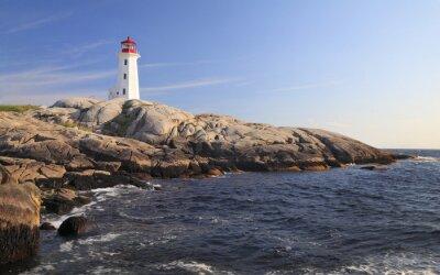 Quadro Peggy Cove Lighthouse, Nova Scotia, Canada