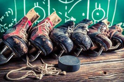 Quadro Piano di giocare in partite di hockey su ghiaccio