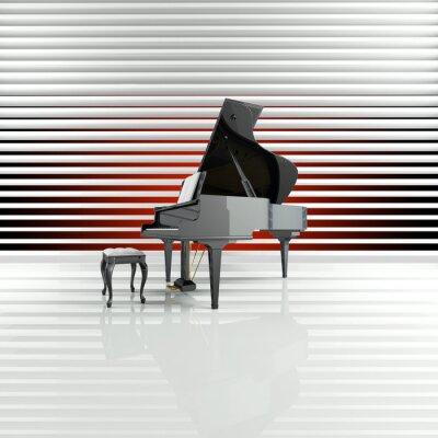 Quadro Piano, Flügel, Bühne, Stella, Talent