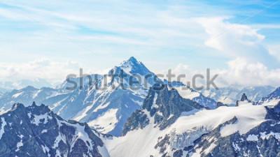 Quadro Picco Le Alpi dal Titlis