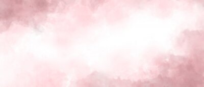 Quadro Pink color abstract watercolor background