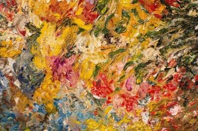 Quadro pittura ad olio sfondo. concept art.