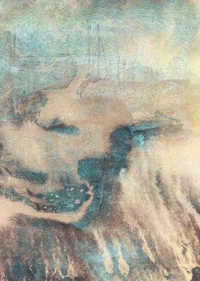 Quadro Pittura astratta