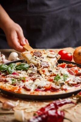 Quadro Pizza fatta in casa