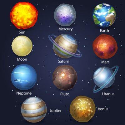 Quadro Planet set 2