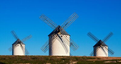 Quadro Pochi di mulini a vento