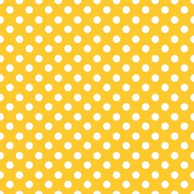 Quadro Polka dots sfondo seamless.