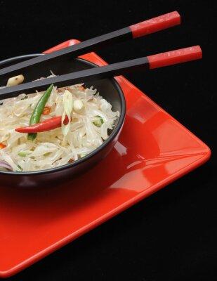 Quadro Pomelo fresco thai insalata