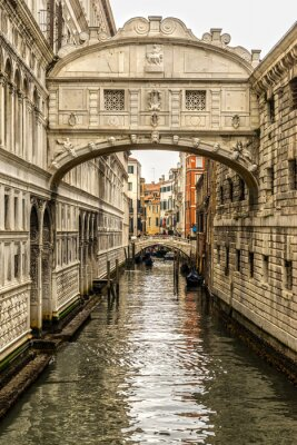 Quadro Ponte dei Sospiri, Venezia, Italia