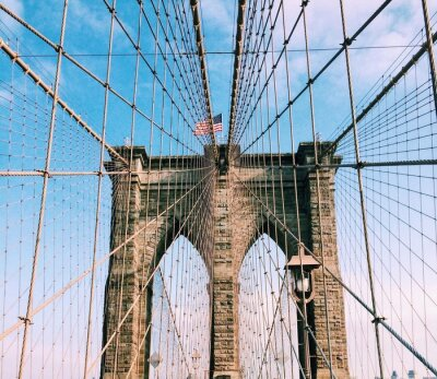 Quadro ponte di Brooklyn