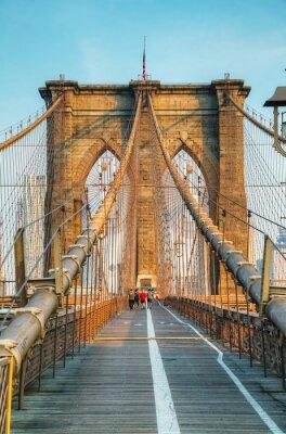 Quadro Ponte di Brooklyn a New York City