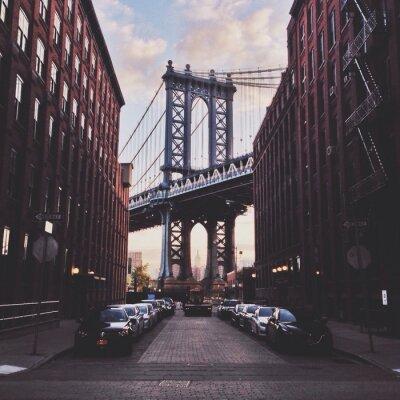 Quadro Ponte di Manhattan