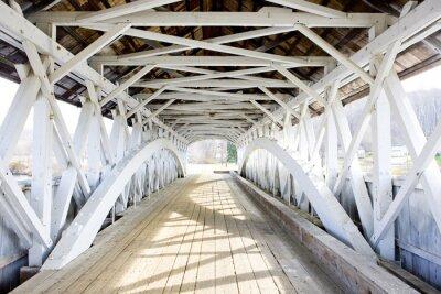 Quadro Ponte Groveton coperta (1852), New Hampshire, Stati Uniti d'America