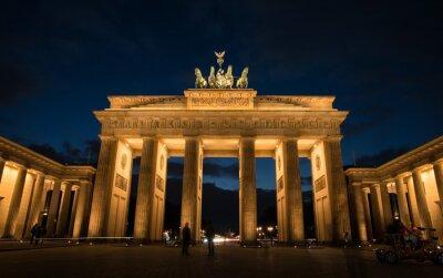 Quadro Porta di Brandeburgo a Berlino Germania