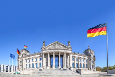 Quadro Reichstag tedesco a Berlino