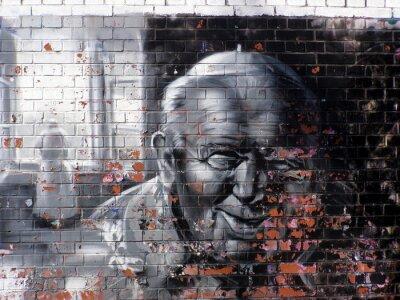 Quadro religione graffiti