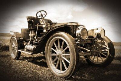 Quadro Retro car .