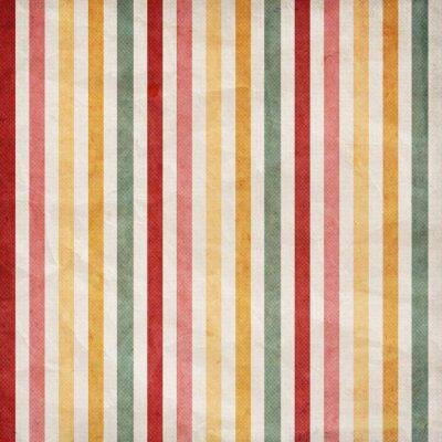 Quadro Retro stripe pattern