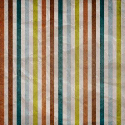 Quadro Retro striscia modello - sfondo con colore marrone, blu, grigio