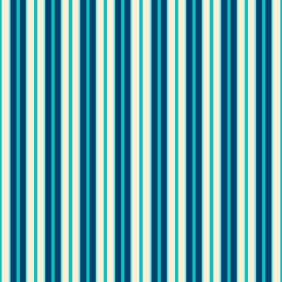 Quadro Righe blu modello