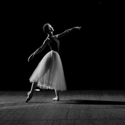 Quadro Ritratto di giovane ballerina