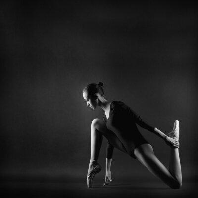 Quadro Ritratto di giovane donna bella ginnasta