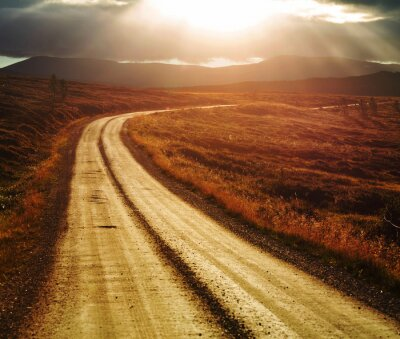 Quadro Road in Norvegia
