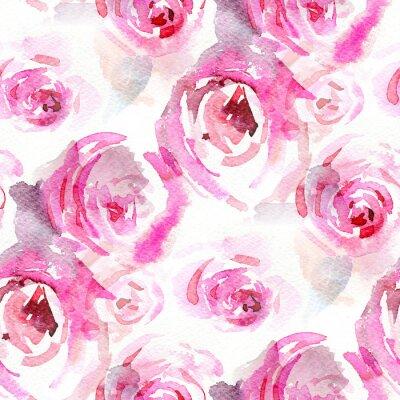 Quadro Rose acquerello