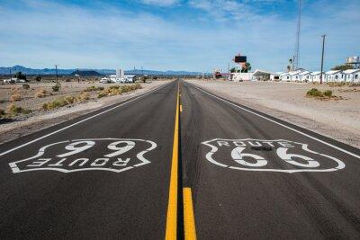 Quadro Route 66 segno