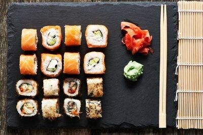 Quadro rulli di sushi