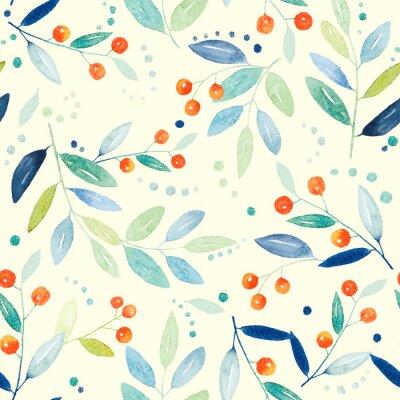 Quadro seamless botanico