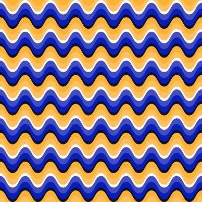 Quadro seamless mossi con illusione ottica del movimento. Swatch è collegato