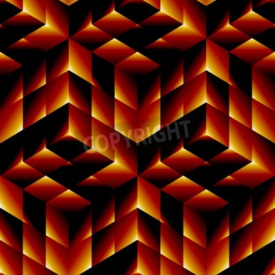 Quadro Seamless pattern geometrico
