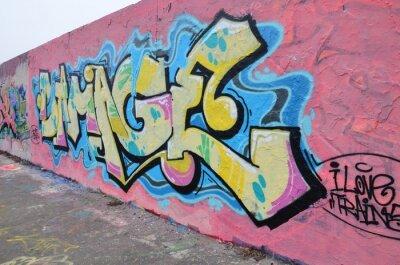 Quadro Segmento de mur à Berlin
