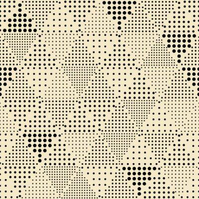 Quadro Senza soluzione di continuità astratto triangolo moderno disegno geometrico
