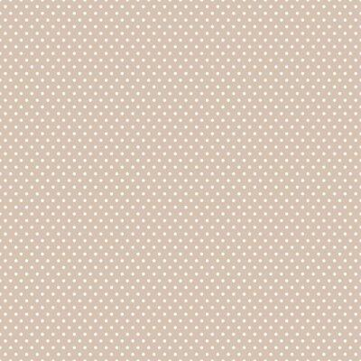 Quadro Senza soluzione di continuità Polka dot background.