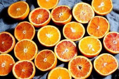 Quadro sfondo di arance
