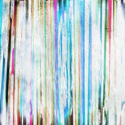 Quadro sfondo disegno astratto su struttura di legno del grano