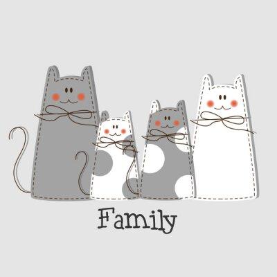 Quadro Sfondo famiglia