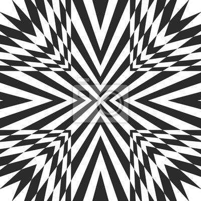 Sfondo Geometrico Bianco E Nero Motivo A Righe Con Linee