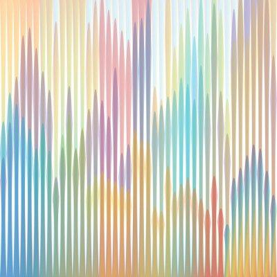 Quadro sfondo strisce colorate