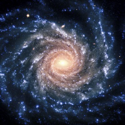 Quadro Sistema View Galaxy elementi di questa immagine fornita dalla NASA isolato