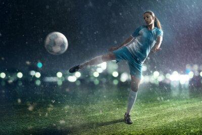 Quadro Soccer Woman