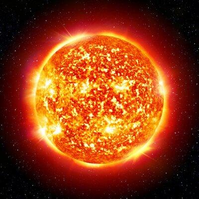 Quadro sole pianeta
