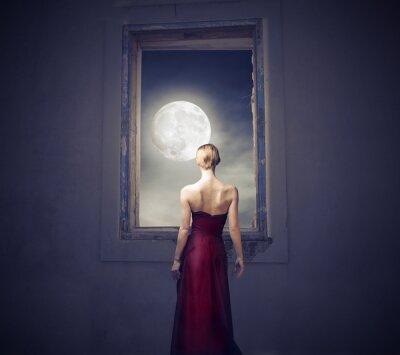 Quadro Sotto la luce della luna
