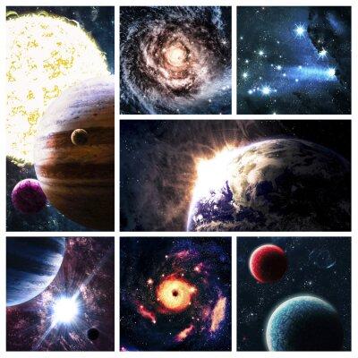 Quadro Spazio collage