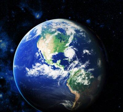 Quadro Spazio. Elementi di questa immagine fornita dalla NASA