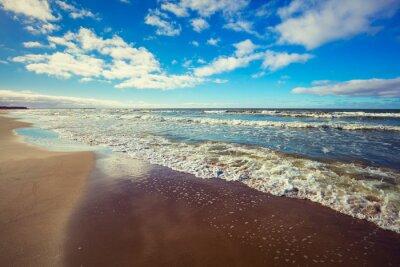 Quadro spiaggia deserta
