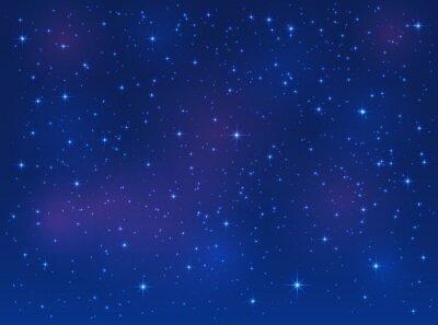 Quadro Stelle su sfondo blu cielo